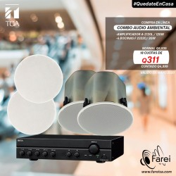F-2322C + A-2120L SET DE AUDIO AMBIENTAL