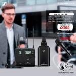 EW100 G4 ENG SENNHEISER SET DE MICROFONO PROFESIONAL PARA CAMARAS DE VIDEO