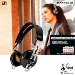 MOMENTUM 2 ON EAR WIRELESS SENNHEISER AURICULARES INALAMBRICOS DE GAMA ALTA