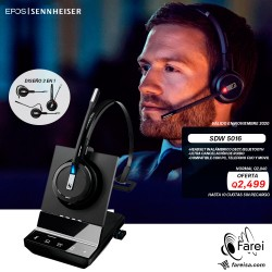 SDW 5016 HEADSET PREMIUN CERTIFICADO PARA SKYPE FOR BUSINESS