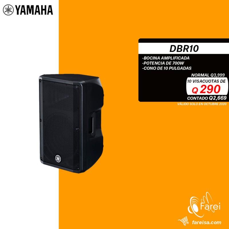 """DBR10 YAMAHA BOCINA AMPLIFICADA DE 700w Y 10"""""""