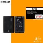 """DXR8 YAMAHA BOCINA AMPLIFICADA DE 8"""" Y 1100W"""