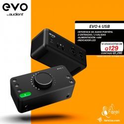 EVO4 AUDIENT INTERFAZ DE 2 CANALES