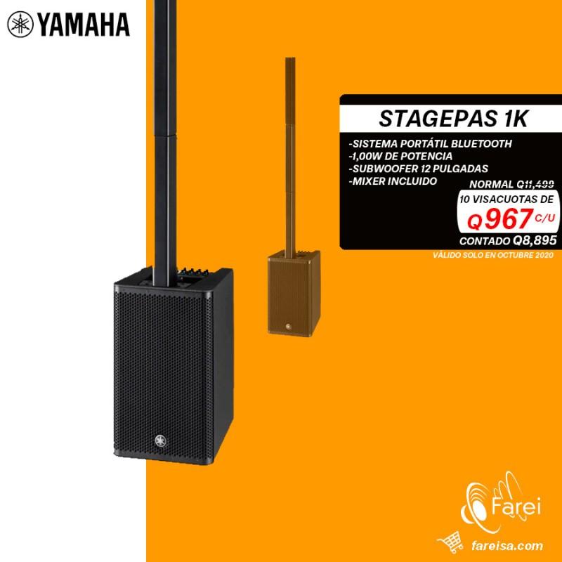 STAGEPASS 1K YAMAHA SISTEMA VERTICAL ACTIVO DE 1000W