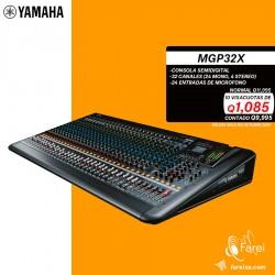 MGP32X YAMAHA CONSOLA DE 32 CANALES