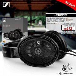 HD660S SENNHEISER  AURICULARES GAMA ALTA PARA AUDIOFILOS