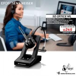 SD OFFICE ML SENNHEISER  HEADSET PREMIUN CERTIFICADO PARA SKYPE FOR BUSINESS