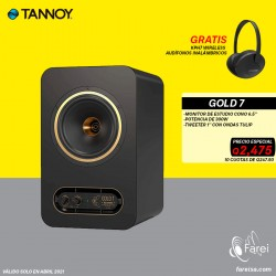 "GOLD 7 TANNOY MONITOR DE REFERENCIA DE 7"""
