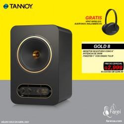 "GOLD 8 TANNOY MONITOR DE REFERENCIA DE 8"""