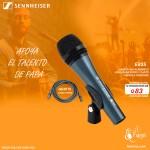 E835 SENNHEISER MICROFONO DE MANO VOCAL PARA VOZ EN VIVO