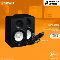 COMBO YAMAHA HS7 + TASCAM TM-180