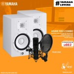 COMBO YAMAHA HS8W + TASCAM TM-280