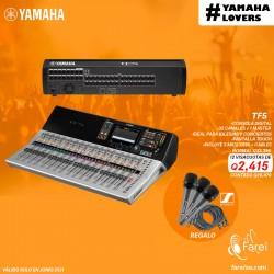 TF5  YAMAHA CONSOLA DIGITAL DE 32 CANALES