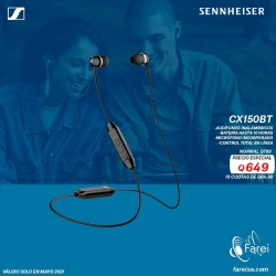 CX150BT SENNHEISER AURICULARES INALAMBRICOS IN EAR