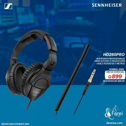 HD280 PRO AUDIFONO PRO OVER EAR PARA ESTUDIO  64 Ω