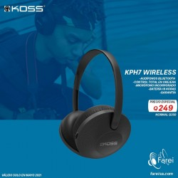 KPH7 WIRELESS KOSS AURICULARES INALAMBRICOS ON EAR