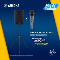 COMBO DBR15 + E835 + STAND
