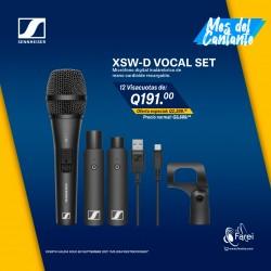 XSW-D VOCAL SET SENNHEISER SISTEMA DE MICROFONO DIGITAL INALAMBRICO
