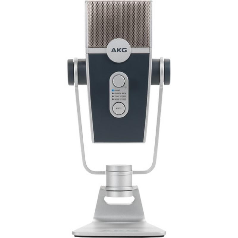 LYRA AKG MICROFONO USB DE CONDENSADOR MULTIPATRON