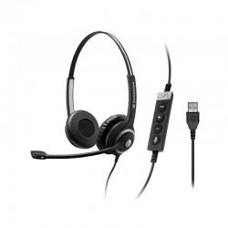 SC-60 USB ML SENNHEISER HEADSET BINAURAL USB CON MICROFONO