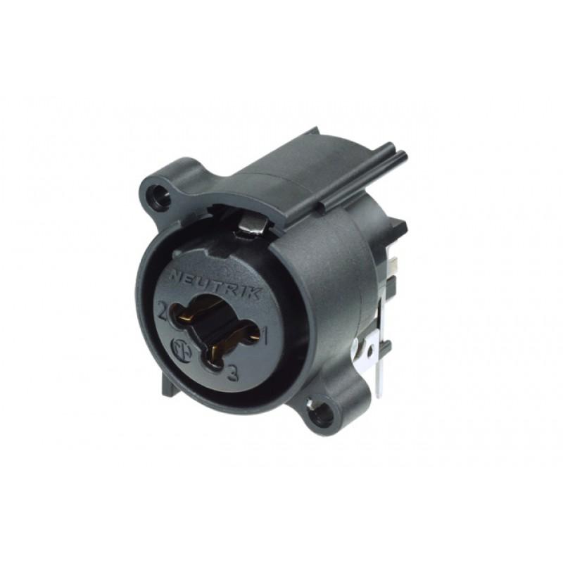 NCJ6FA-H-0 Conector hembra XLR Jack stéreoMontaje horizontal PCB