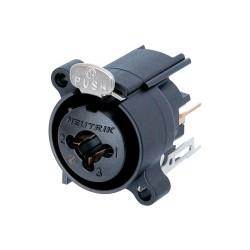 NCJ6FA-V Conector de chasis combinacionde XLR y 1/4