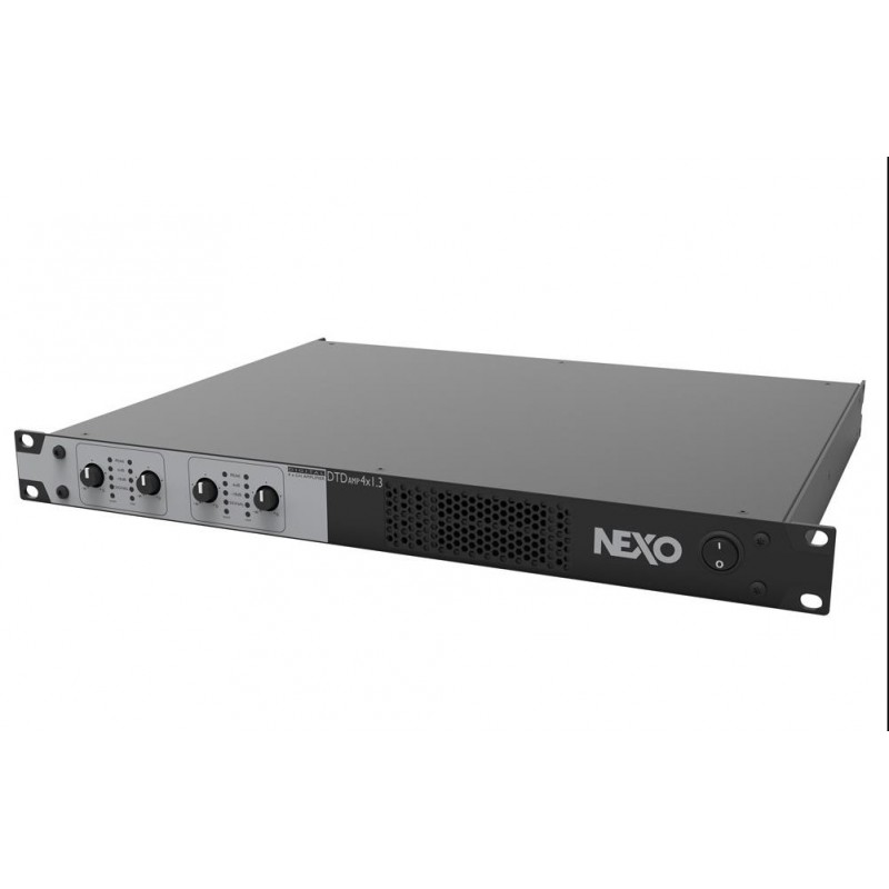 DTDAMP4X1.3U Amplificador de 4 canales 4 x 1300 W / 4Ω