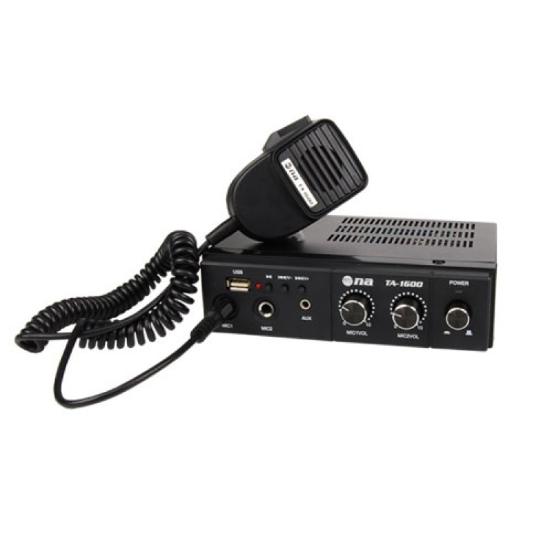 TA1600 Amplificador para unidad movil de 60w con USB