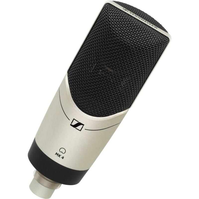 MK4 Micrófono profesional condensador cardioide, de 50Ω