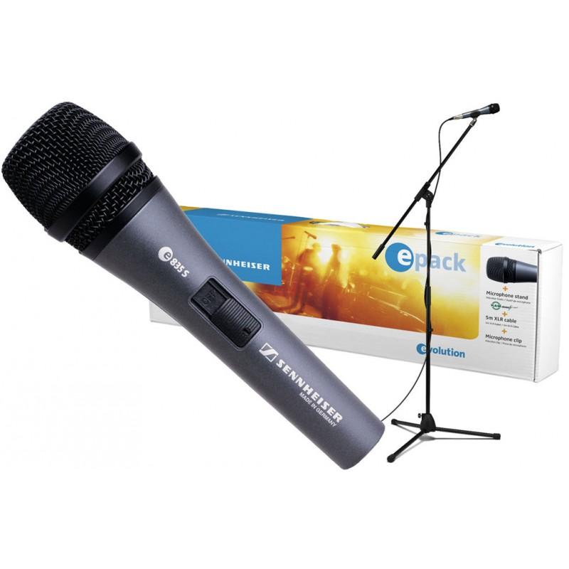 EPACK E835 Set de microfono e835 + pedestal