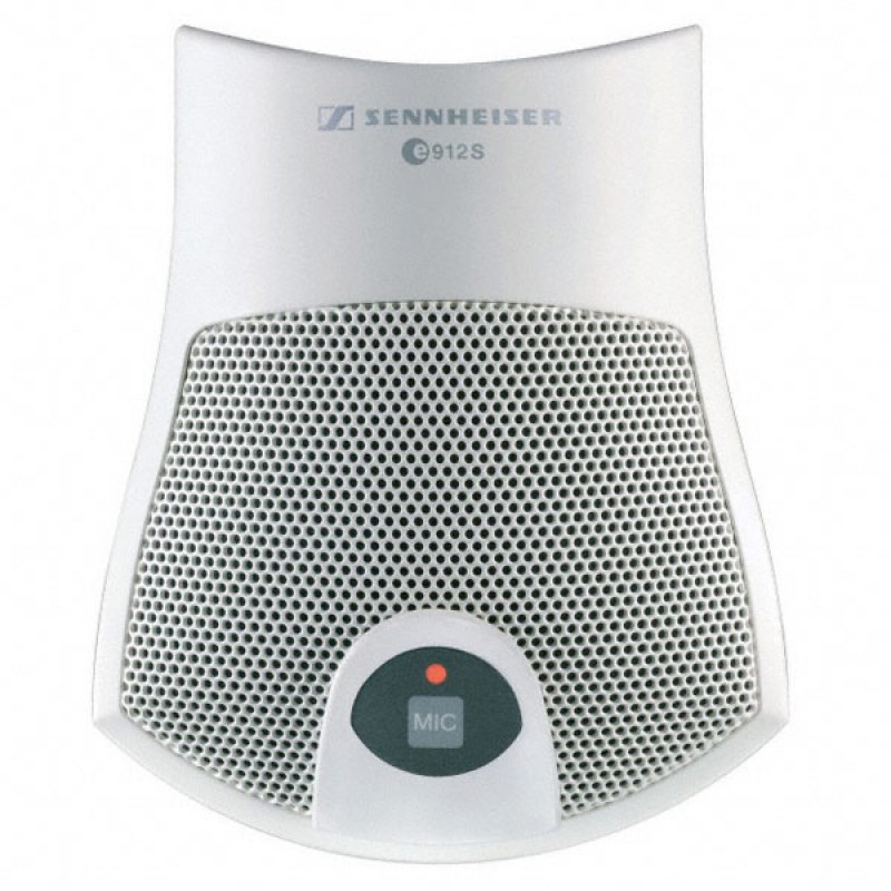 E912S WH Micrófono blanco de supeficie condensador semicardioide, de 100Ω