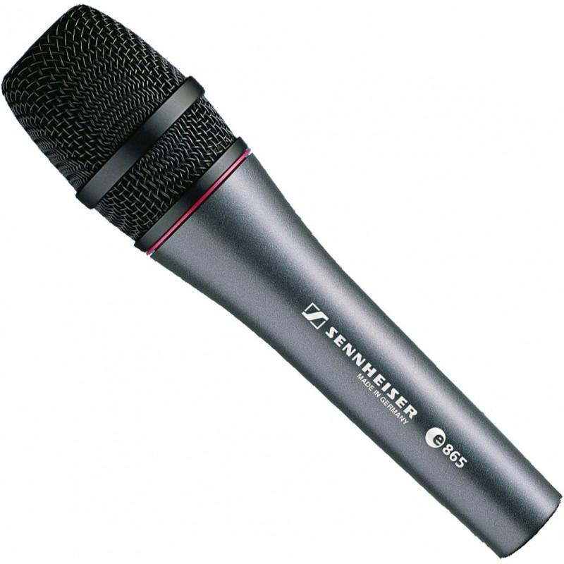 E865 Micrófono de mano super cardiode de 350Ω (PRECIO ESPECIAL MIENTRAS DUREN EXISTENCIAS)