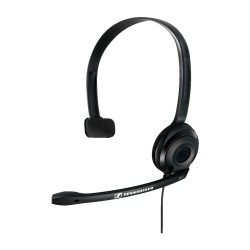 PC2 CHAT SENNHEISER HEADSET MONOAURAL PLUG AND PLAY