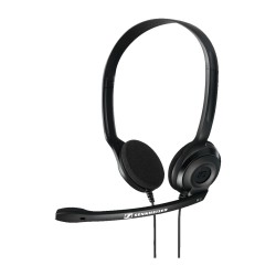 PC3 CHAT SENNHEISER HEADSET BIAURAL PLUG AND PLAY
