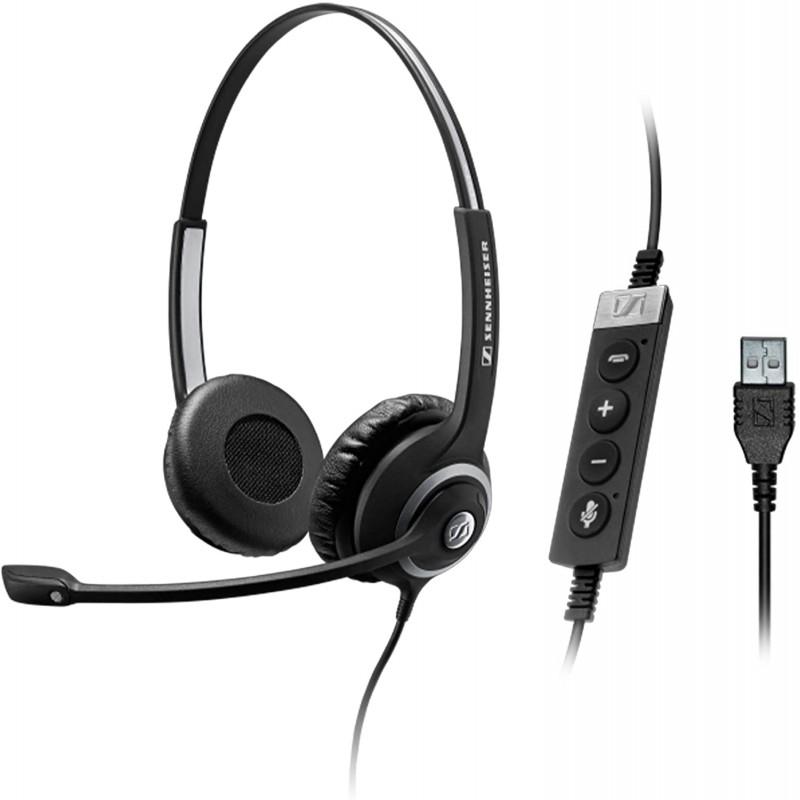 SC-260 SENNHEISER HEADSET BIAURAL USB