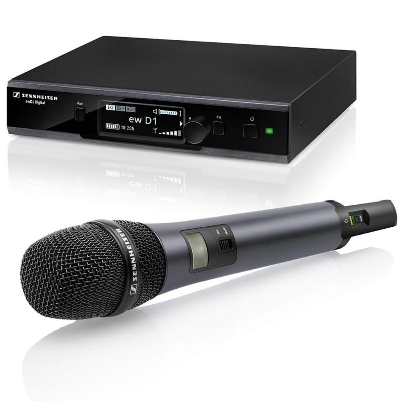 EW D1-845S-NH-U Sistema inalambrico de mano para vocalistas