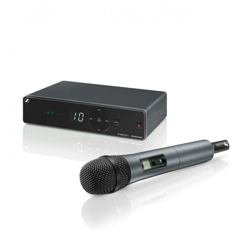 XSW 1-835-A   Sistema de micrófono inalámbrico de mano pastilla e835