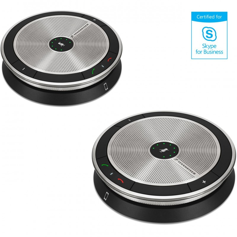 SPEAKER DOBLE PARA CONFERENCIAS SENNHEISER SP 220 MS