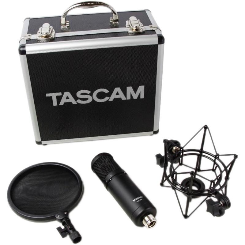 TM-280 TASCAM MICROFONO PROFESIONAL CONDENSADO PARA ESTUDIO DE GRABACION