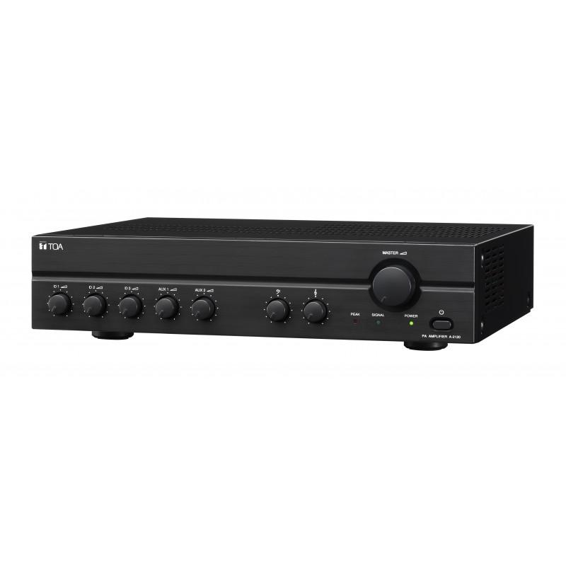 A-2120L Amplificador y Mixer de 120w (70V)