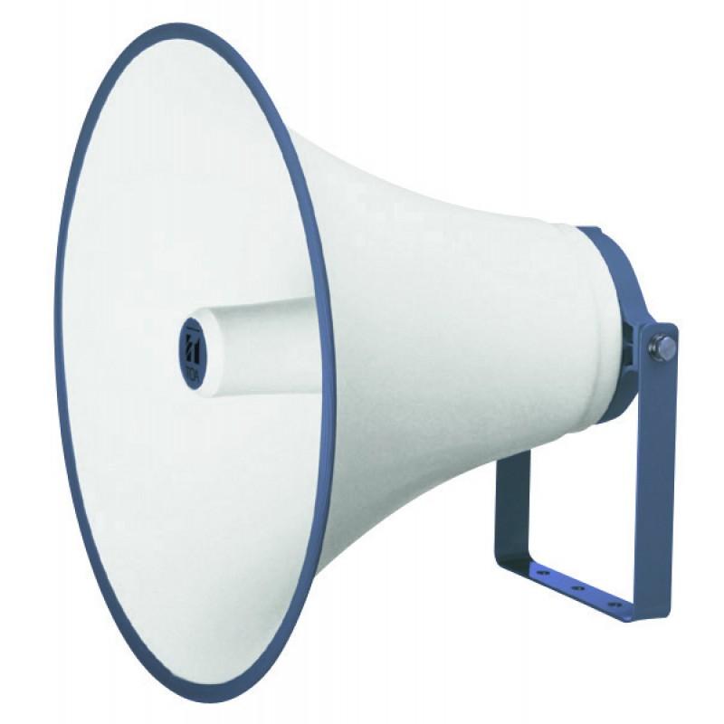 TH-650 Bocina tipo trompeta  color hueso redonda
