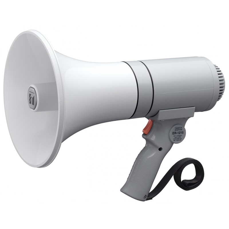 ER-1215 Megafono Blanco de mano 15W