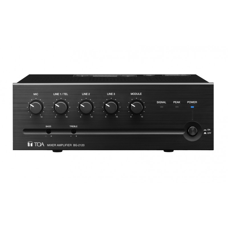 BG-2120 Amplificador y Mixer 120 W  (Precio Especial)