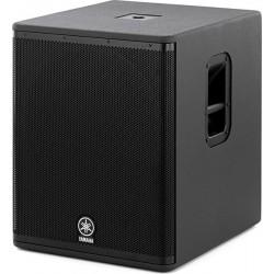 DSR118W Subwoofer amplificado negro de 800W una via 18''