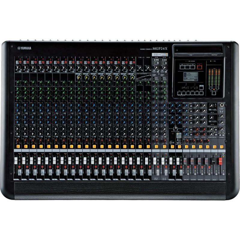 MGP24X Consola análoga de 24 canales con efectos