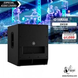 SUBWOOFER AMPLIFICADO DE  1100W DE 18´´ YAMAHA DXS18