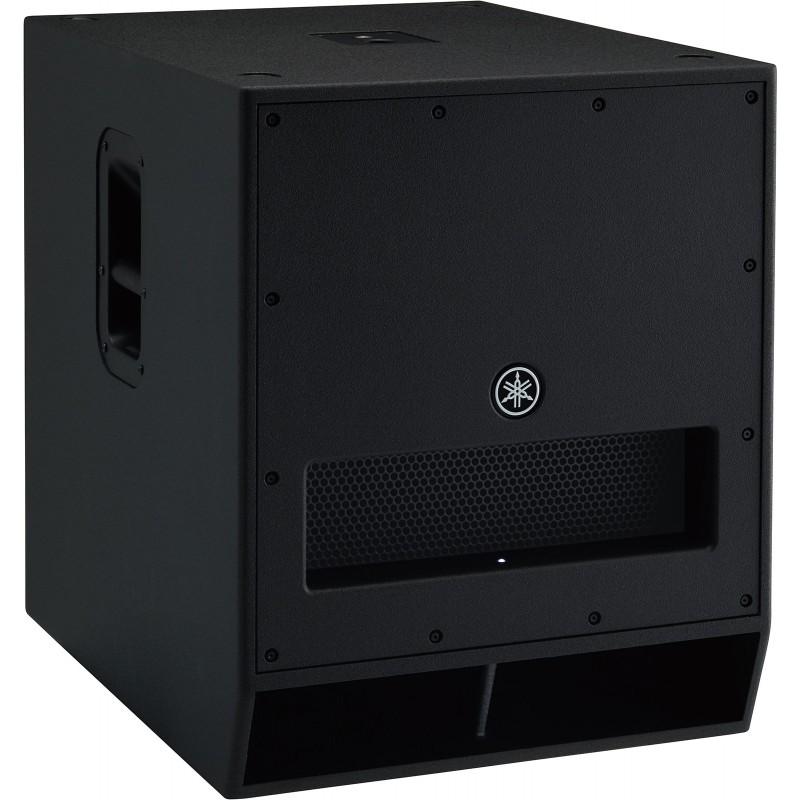 DXS18  Subwoofer negro amplificado de1100W de 18''