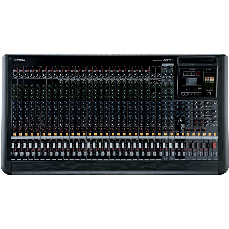 MGP32X Consola análoga de 32 canales.